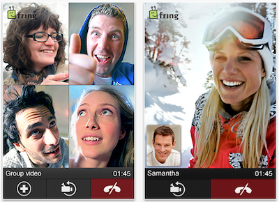 Fring App Screenshot