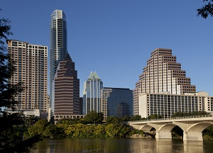 Austin business skyline