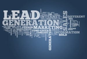 Word Cloud with Lead Generation related tags